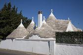 Modern trullo villa — Stock Photo