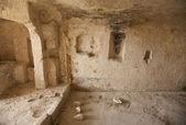 Cave flat Sassi - Matera — Stock Photo