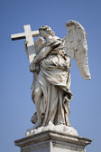 Angle with cross — Stock Photo