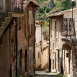 Stock Photo: Road to steps of Assergi - Abruzzo - Italy