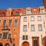 stads-arkitektur i Prag — Stockfoto