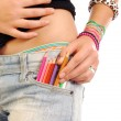The pencils in your pocket — Stock Photo #6747549