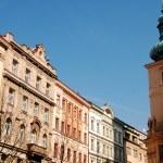 stads-arkitektur i Prag 004 — Stockfoto