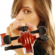 Stockfoto: Womwith violin 006