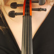 Woman with violin 048 - Photo