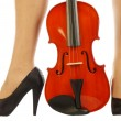 Women and musical instrument 015 - Stock Photo