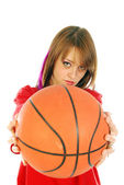 Let's make a game of basketball — Stock Photo