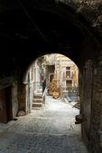 Porch - Assergi - Abruzzo - Italy — Stock Photo