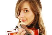 女人用小提琴 015 — 图库照片