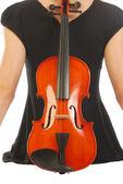 女人用小提琴 052 — 图库照片