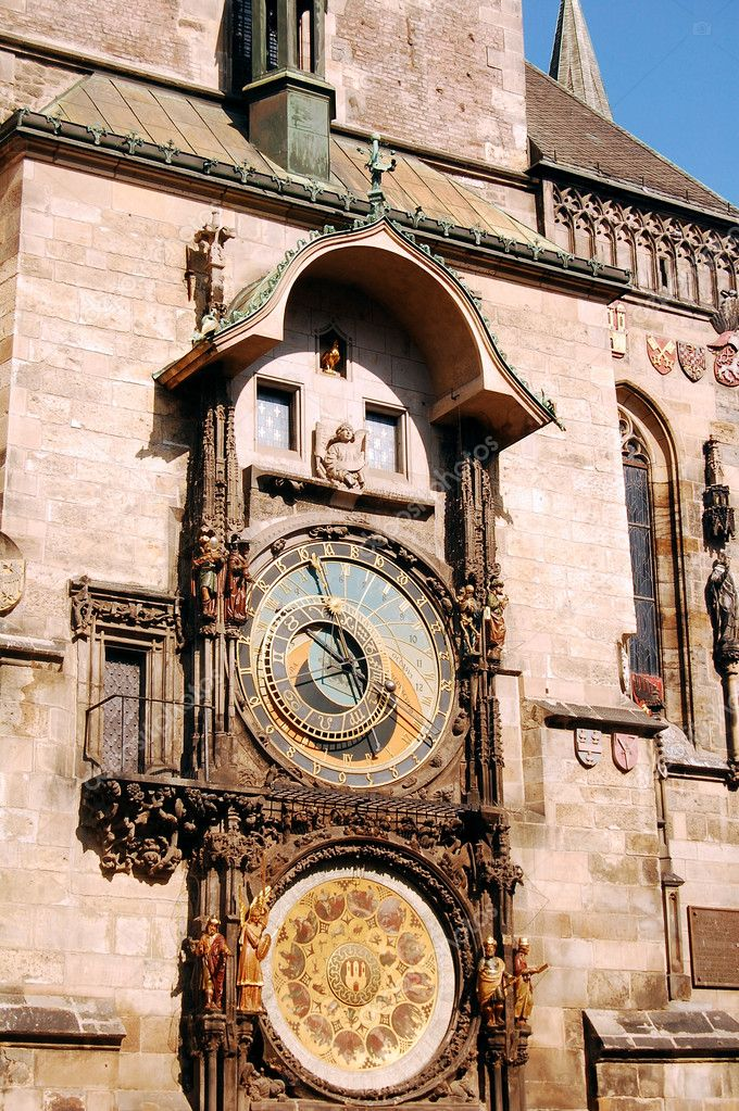 A image of the beautiful Clock Tower (astronomy) in Prague  Stock Photo #6747547