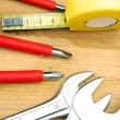 Tools for DIY and small maintenance — Stock Photo