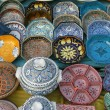 Tunisian Pottery - Stock Photo