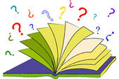 The Book of Questions — Stock Photo