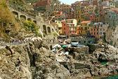 View of Manarola (Cinque Terre - Liguria) — Stock Photo