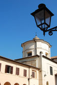 View of the Church of St Clement of Velletri — Stock Photo