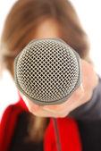 Voice your voice — Stock Photo