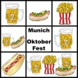 Oktoberfest - Munich - Germany — Stock Photo
