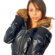 Stock Photo: Beautiful womin winter clothing