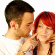 Love has red hair — Stock Photo #7090330