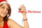 Christmas greetings 005 — Stock Photo
