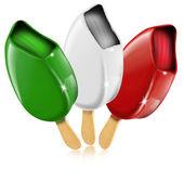 意大利制造的冰激淋 — 图库照片