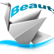 Beauty swan — Foto Stock