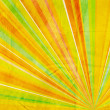 Geometric abstract background yellow orange green and red — ストック写真 #6885360
