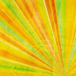 Geometric abstract background yellow orange green and red - Stock Photo