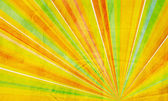 Vermelho e verde laranja geométrico abstrato amarelo — Foto Stock