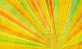 几何抽象背景黄色橙色绿色和红色 — 图库照片