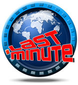 World last minute — Stock Photo