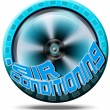 Icon air conditioning - Stockfoto