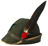 Italian alpine hat — Stock Photo