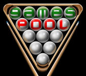 Pool games — Stock Photo