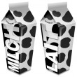 Milk packaging - Emballages de lait - Milch-Verpackung - Envasado de leche — Foto de Stock