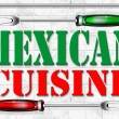 Mexican cuisine - Cocina mexicana - Stock Photo