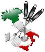 International cuisine made in Italy — Stock Photo