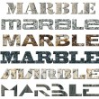 Six Words Marble - Stock Photo