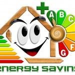Energy saving wood with flower clock — Stock Photo