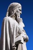 Statue of Dante Verone (Verona) Italy — Stock Photo