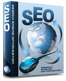 Box SEO - Search Engine Optimization Web — 图库照片