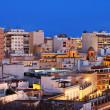 View of the urban area of Almeria, Andalucia, Spain. — Stock Photo