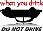 No drink illustration — Stock Photo