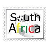 切手のワールド カップ — ストック写真