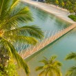Stock Photo: Bridge to paradise island