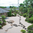 Traditional Japanese garden - Photo
