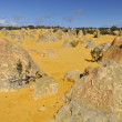 Stock Photo: Australia Pinnacles Desert