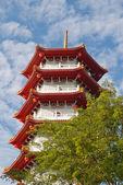 Pagoda in Chinese garden — Stock Photo