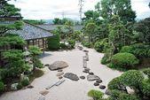 Traditional Japanese garden — Stock Photo